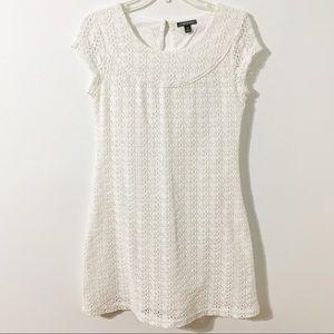 Apt. 9 Fully Lined Lace Overlay Shortsleeved Dress